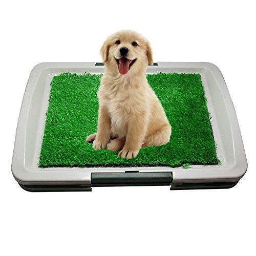 Indoor House Puppy Dog Grass Toiletten Trainings Mat Pad Töpfchen 3 Layer Mat (Indoor Puppy Potty)