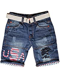 0fb02da3a80 Denim Boys' Shorts & Dungarees: Buy Denim Boys' Shorts & Dungarees ...