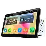 Eonon Android 7.1 Doppel Din Autoradio 2 Din mit GPS Navigation 2GB RAM 10,1 Zoll Bildschirm Touchscreen Bluetooth Freisprechfunktion Stereo WiFi/WLAN DAB+ 3G Fastboot USB Lenkradfernbedienung GA2168 (KEINE DVD)