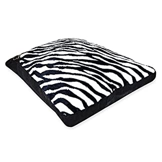 AmigoZone Luxury LARGE & Extra Large Luxury Crushed Valvet Dog Bed Washable Zipped COVER ONLY (Extra Large (Cover Only… 10