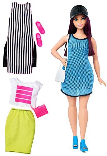 Barbie - Muñeca Fashionista, Loca por el Azul...