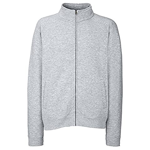 Fruit of the Loom - Sweat-shirt - Moderne - Homme X-Large - gris - X-Large
