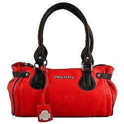 NCAA Ohio State Buckeyes Baywood Academic Handbag, Small