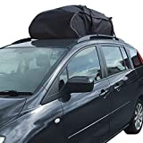 Car Roof Top Cargo Bag Carrier Ideal For Cars With Existing Roof Rails