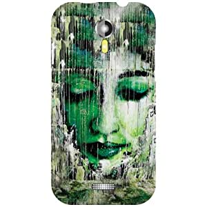 Micromax A117 Canvas Magnus - Closed Eyes Matte Finish Phone Cover