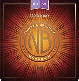 D 'Addario nbm1154011,5–40Light Nickel Bronze Mandoline Saiten