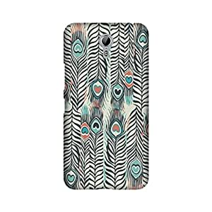 Lenovo Zuk Z1 Peacock Feather Cases and Covers by Aaranis