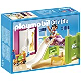 Playmobil Mansión Moderna de Lujo - Habitación de los niños con litera y tobogán, playset (5579)