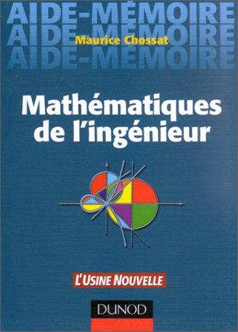 Mathémathiques de l'ingénieur