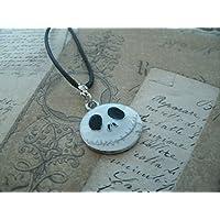 Mr Jack - Jack Skellington Porte-clés / collier en métal argenté