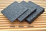 50 Stück 6mm Terrassenpad, Terrassenpads, Gummigranulat, Terrassenbau