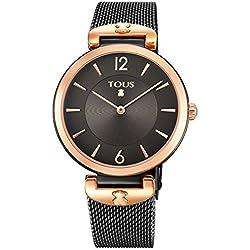 Reloj Tous S-Mesh Acero IP Negro 700350300