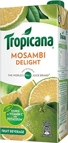Tropicana Mosambi Delight Fruit Juice, 1000ml