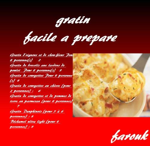 gratin grand mere facile a prepare en20min (ma cuisine t. 4) par farouk ali