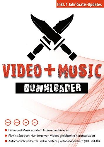 Video + Music Downloader - Filme und Musik aus dem Internet herunterladen - Windows 10 - 8.1 - 8 - 7 - Vista