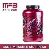 Myfitbody Weight Gainer Gama Pro Ganador de Masa Sabor Vainilla - 2200 gr