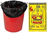 #5: G-1 Extra Large | 29 X 39 inch | 50 Pcs | Disposable Garbage Trash Waste Dustbin Bags - Black