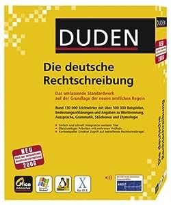 Duden - Die deutsche Rechtschreibung 24. Auflage Office-Bibliothek für WIN/Mac OS X/Linux