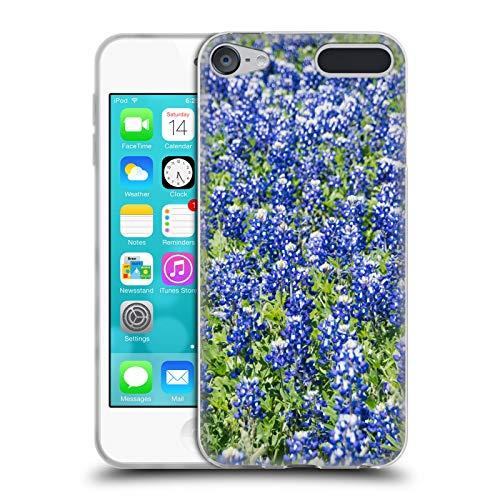 Offizielle Andrea Anderegg Blaue Wiesenlupine Gemischte Designs Soft Gel Huelle kompatibel mit Apple iPod Touch 6G 6th Gen
