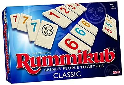 Rummikub Classic – Jeu de Société – Rami des Chiffres Version Anglaise