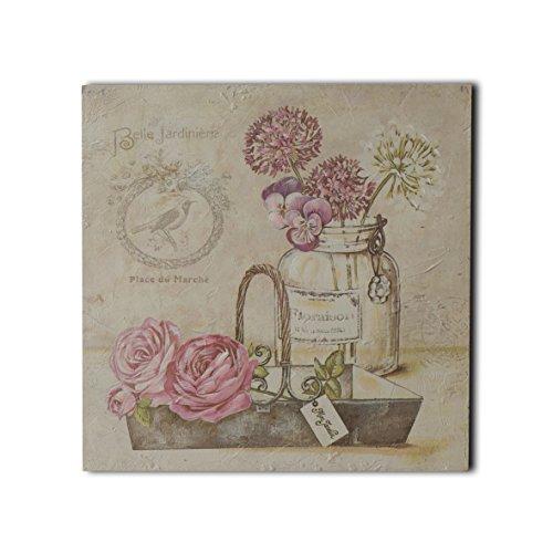 CVHOMEDECO. Pintura de alivio de la vida pintada a mano Bonsai imágenes...