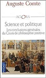Science et politique : Les conclusions générales des cours de philosophie positive