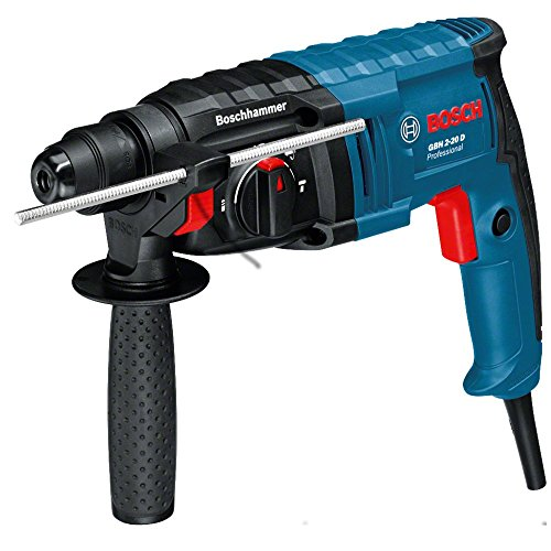elektro bohrhammer Bosch Professional Bohrhammer GBH 2-20 D (650 Watt, Bohr-Ø Beton max: 20 mm, SDS-plus, im Koffer)