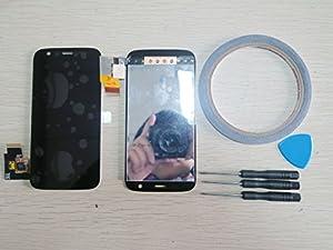 LCD Display Touchscreen Front Glas Für Motorola Moto G XT1032 schwarz Neu+Werkzeug & Klebeband