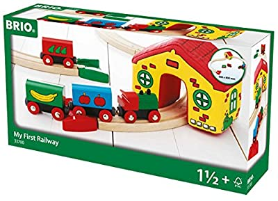 Brio 33700 - Mi Brio primer ferrocarril de Brother