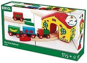 Brio Jouet Premier Age - Mon premier circuit de train