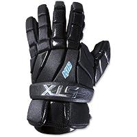 STX Lacrosse (K-18Lacrosse Guantes - GE K84F 02 BK/XX, Negro