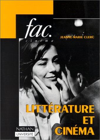Littérature et cinéma par Jeanne-Marie Clerc
