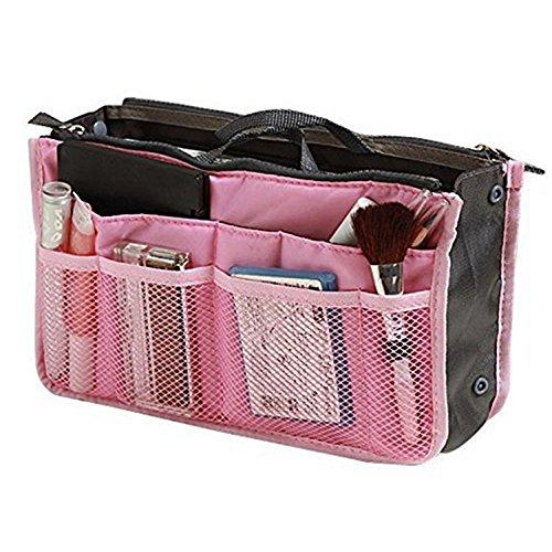 Jooks Handbag Organiser Make-Up Kosmetiktasche Handtasche Kosmetik Tool Stift Handtasche...