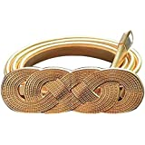Satyam Kraft Golden Leaves Stretch Metal Belt for women girls