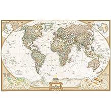 Amazon.es: Mapa Mundi National Geographic