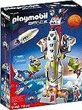 Playmobil Space 9488 - Razzo Spaziale con Rampa di Lancio, 113 pezzi, dai 6 Anni