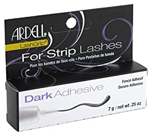 Ardell Lashgrip Adhesive Dark 0.25oz Tube (Black Package) (2 Pack)