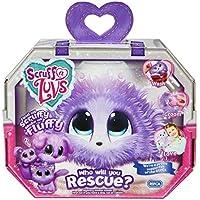 Scruff-a-Luvs Purple Rescue Toy Haustier Hund, Katze oder Kaninchen Worlds Apart