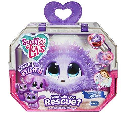 Scruff-a-Luvs Purple Rescue Toy Mascota para...
