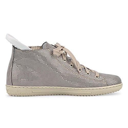 Rieker 54240 Chaussures Femme Bottes Bottes Doublure Chaude Gris