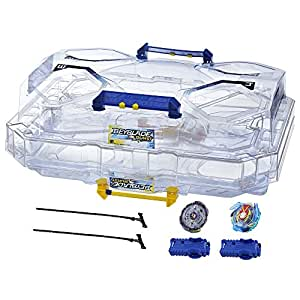 Beyblade - Set de Combat Double Surface Beyblade Burst Evolution SwitchStrike – Arene multiniveaux