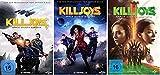 Killjoys - Space Bounty Hunters: Staffel 1-3 (9 DVDs)