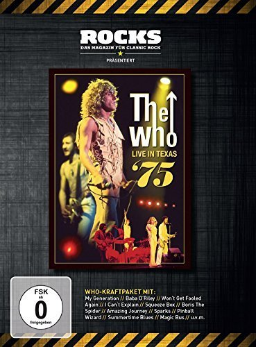 Preisvergleich Produktbild The Who - Live in Texas '75