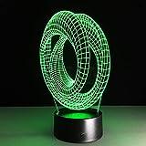 Die besten Verkauf von Tischleuchten - Heißer Verkauf Magische Optische Täuschung 3D Stimmung Lampe Bewertungen