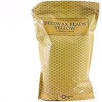 Perlas de cera de abeja sin refinar 1 Kg
