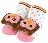 Stephan Baby Non-Skid Rattle Socks, Miss...