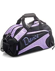 Katz Dancewear Girls Ladies Large Purple Dance Ballet Tap Kit Holdall Sports Bag KB73