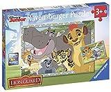 Ravensburger 07599 7 - Puzzle - La Garde du Roi Lion - 2 x 12 Pièces