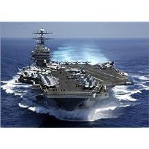 Forex 100 x 70 cm: Aircraft carrier USS CARL VINSON in the Indian Ocean de Everett Collection