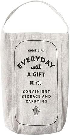 fournitures de voyage Sac en plastique en coton distributeur de sacs de rangement /à suspendre pour cuisine